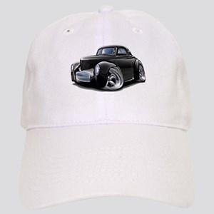 1941 Willys Black Car Cap