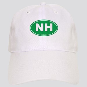 New Hampshire NH Euro Oval Cap