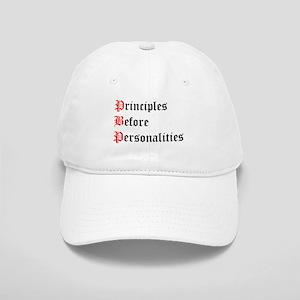 Principles Before Personalities Cap