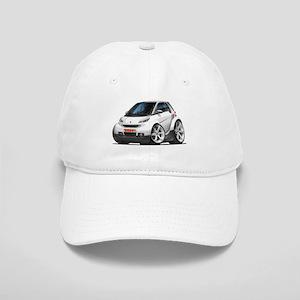 Smart White Car Cap