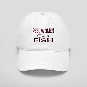 Reel Women Fish Cap