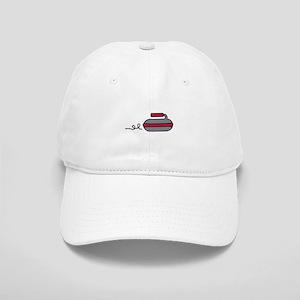 Curling Rock Baseball Cap