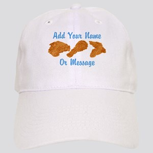 PERSONALIZED Fried Chicken Baseball Cap
