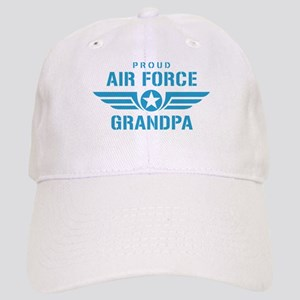 Proud Air Force Grandpa W Cap