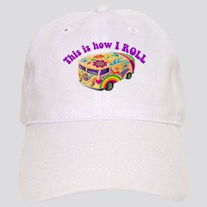 How I Roll (Hippie Van) Cap
