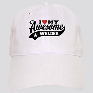 I Love My Awesome Welder Cap