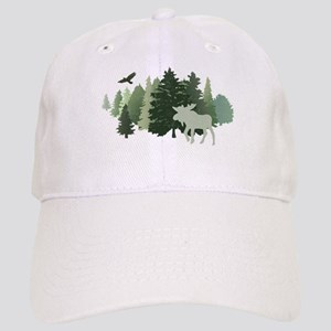 Moose in the Forest Cap