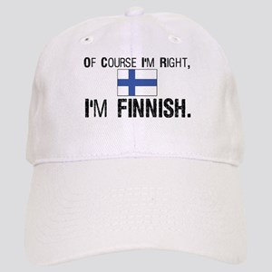 Of course I'm Right Finnish Cap