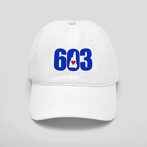 603 NEW HAMPSHIRE LOVE Baseball Cap