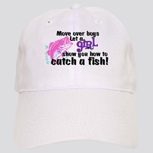 Move Over Boys - Fish Cap