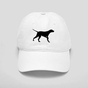Pointer Dog On Point Cap