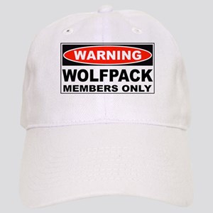 Warning Wolfpack Members Only Cap