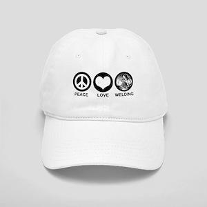 Peace Love Welding Cap