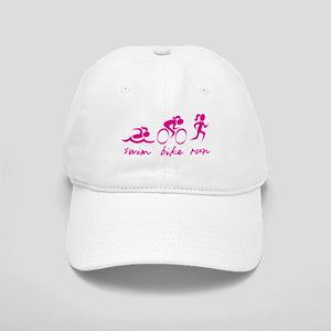 Swim Bike Run (Girl) Cap
