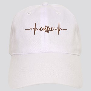 COFFEE HEARTBEAT Baseball Cap