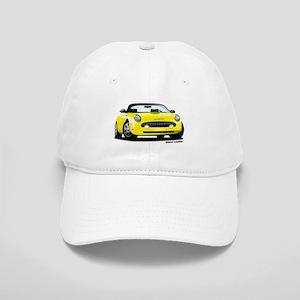 2002 05 Ford Thunderbird yellow Cap