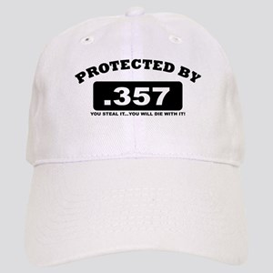 property of protected by 357 b Baseball Cap