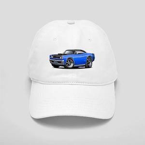 1968 Super Bee Blue-Black Car Cap