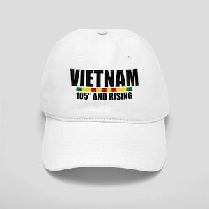 VIETNAM 105 DEGREES AND RISING Baseball Cap