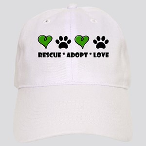 Rescue*Adopt*Love Cap