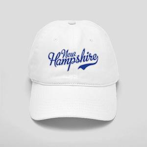 New Hampshire Script Font Baseball Cap