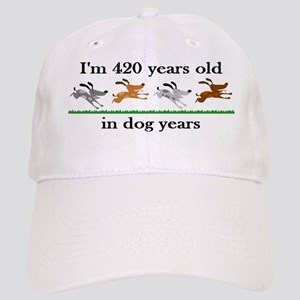 60 birthday dog years 2 Baseball Cap