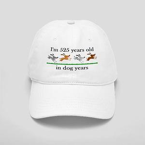 75 dog years birthday 2 Baseball Cap