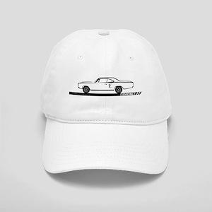 1968-69 Coronet Black Car Cap