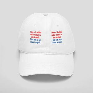 baseball-contract_mug1 Cap
