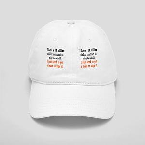 baseball-contract_mug2 Cap