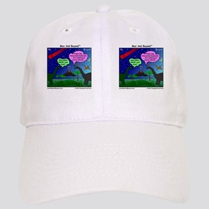 Dinosaurs and Asteroid Cartoon Cap