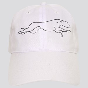 Greyhound Outline multi color Cap