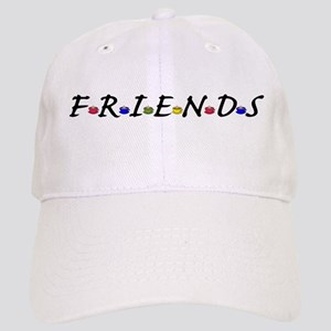 Friends And Coffee Cups Baseball Cap
