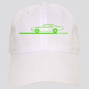 1968-70 Charger Lime Car Cap