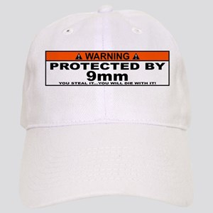 protected by 9mm Baseball Cap