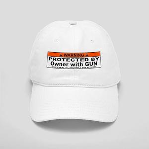 protected by gun owner Baseball Cap