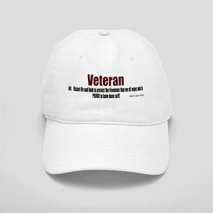 Veteran Definition Cap