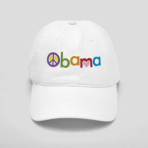 Peace, Love, Obama Cap