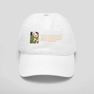 White Daffodils & Poem Cap