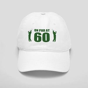 Golfer's 60th Birthday Cap