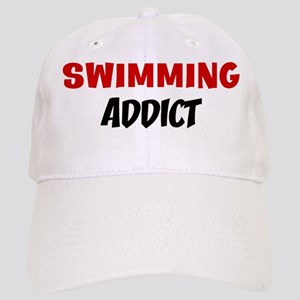 Swimming Addict Cap