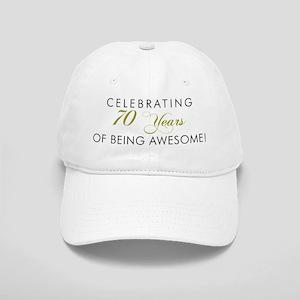 Celebrating 70 Years Awesome Baseball Cap