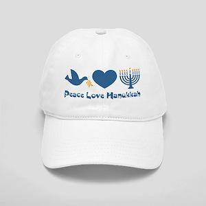 Peace Love Hanukkah Cap