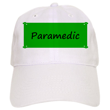 592df609ae3 Paramedic Baseball Cap   Occupation Caps and Hats   Occupation T ...