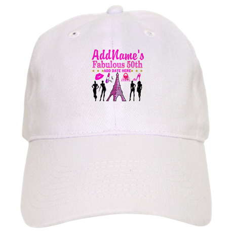 50TH BIRTHDAY Hat By Jlporiginals
