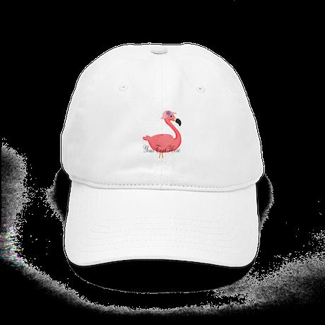 6bdacddebf2 Pink Flamingo Lady Baseball Baseball Cap by FlamingoBeach