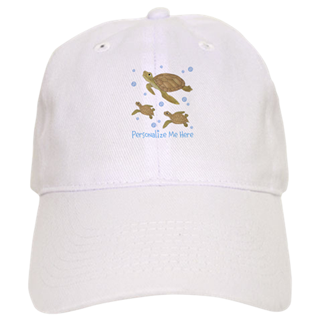 17c5fc96112 Personalized Sea Turtles Baseball Cap by TotsOFun
