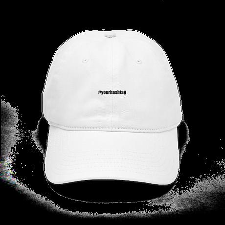4fe82b86c1c Customizable Hashtag Baseball Cap by Admin CP49789583