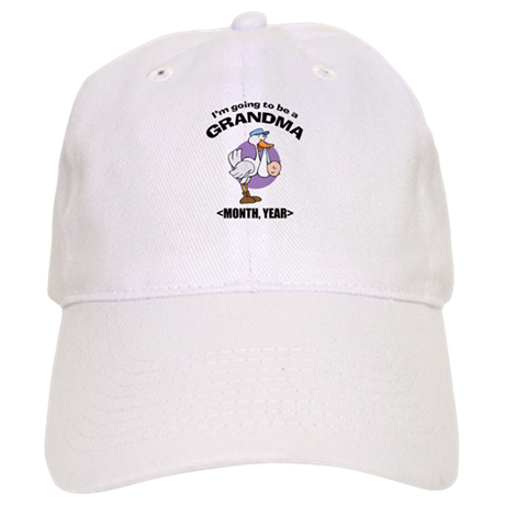 Grandma To Be Personalized Cap
