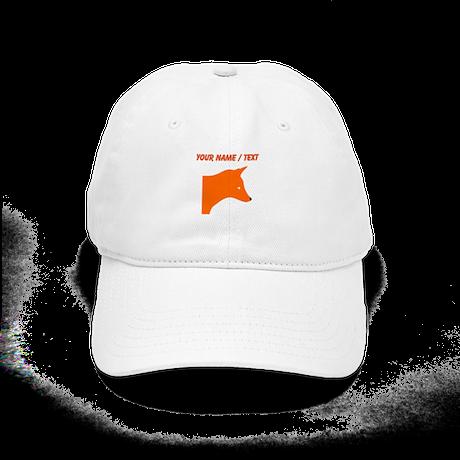 Custom Orange Fox Cap